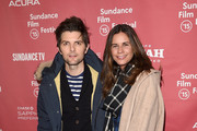 Naomi Scott and Adam Scott Photo