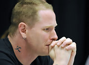 This little bit of ink is just one of Corey Taylor's countless tattoos.