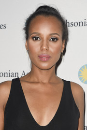Kerry Washington kept it timeless with this bun at the 'Scandal-ous!' event.