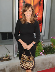 Jacyln looked lovely in a  three-quarter-sleeved LBD at the screening of 'Snowflower and the Secret Fan'.