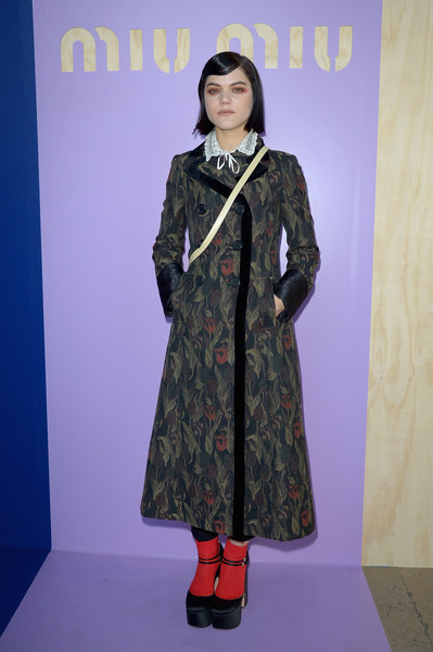 SoKo Printed Coat