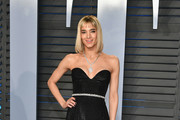 Sofia Boutella Strapless Dress