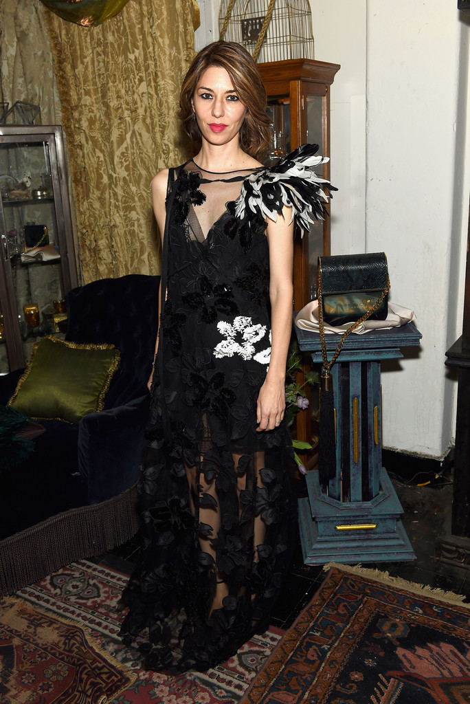 sofia coppola evening dress sofia coppola looks