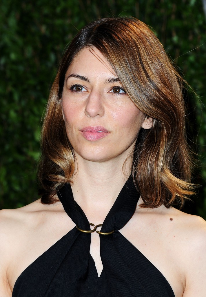 Sofia Coppola Medium Wavy Cut Sofia Coppola Looks
