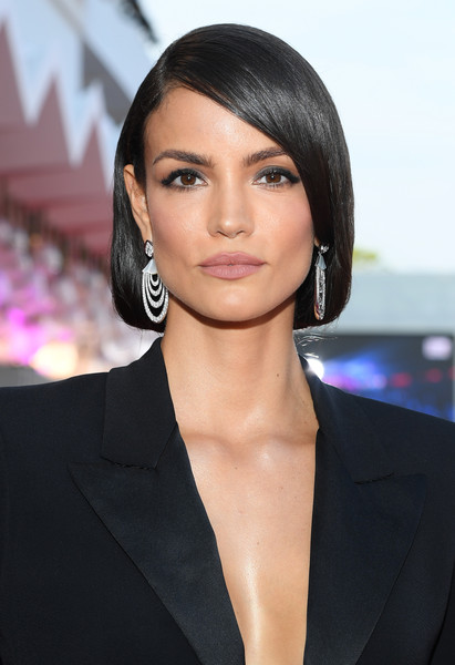 Sofia Resing Bob [jaccuse,hair,face,hairstyle,eyebrow,lip,black hair,beauty,chin,forehead,cheek,red carpet arrivals,sofia resing,sala grande,red carpet,venice,italy,76th venice film festival,screening]