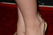 Sofia Vassilieva Peep Toe Pumps