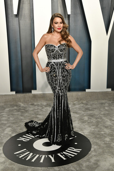 Sofia Vergara Corset Dress