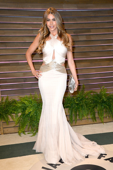 Sofia Vergara Cutout Dress