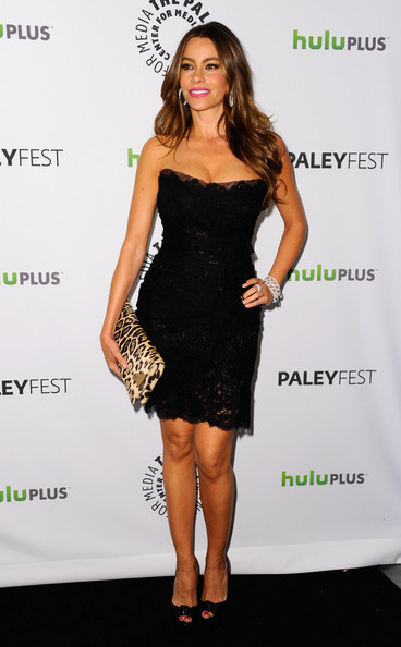 Sofia Vergara Little Black Dress