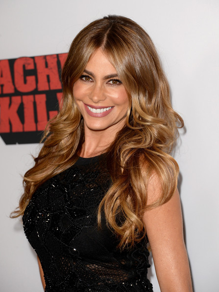 Sofia Vergara Long Curls