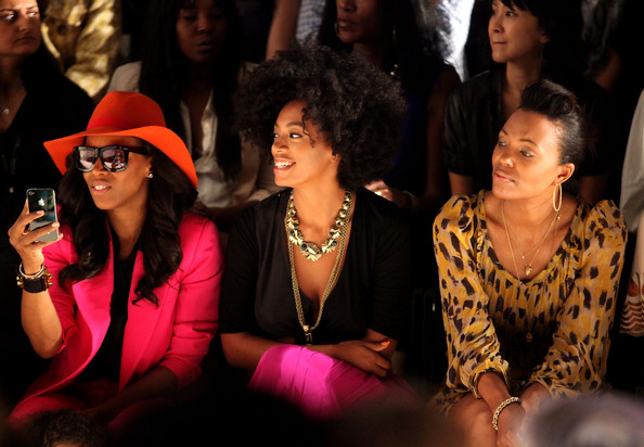 TRESemme at Tracy Reese - Front Row - Spring 2012 Mercedes-Benz Fashion Week