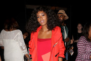 Solange Knowles Leather Jacket
