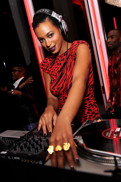 Solange Knowles Beauty