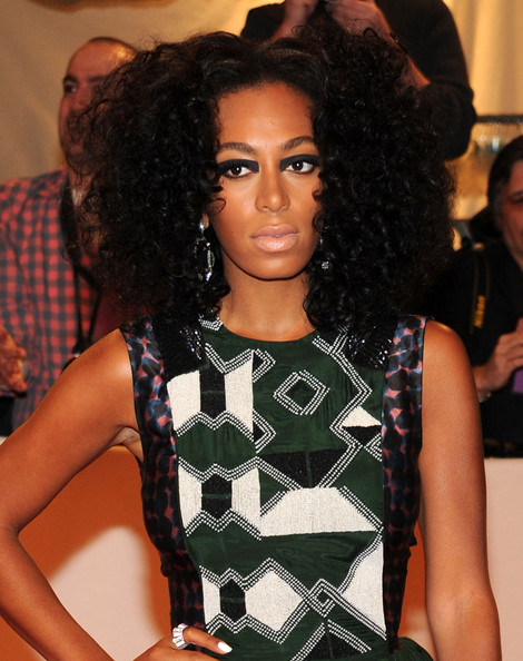 Solange Knowles Smoky Eyes