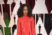 Solange Knowles Turtleneck
