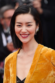 Liu Wen opted for a sleek bob when she attended the Cannes Film Festival screening of 'Solo: A Star Wars Story.'