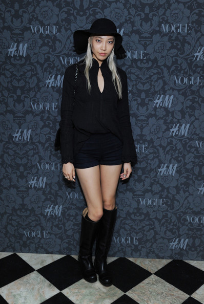 Soo Joo Knee High Boots