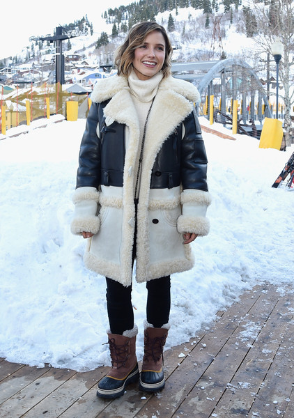Sophia Bush Snow Boots