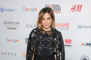 Sophia Bush Leather Lace-ups