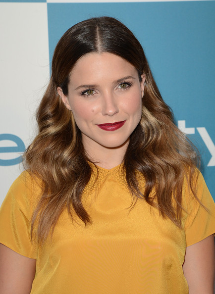 Sophia Bush Dark Lipstick