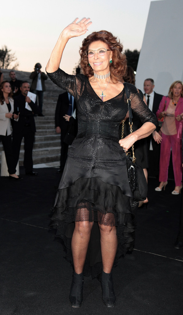 Sophia Loren Little Black Dress Sophia Loren Looks