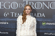 Sophie Turner Ruffle Blouse
