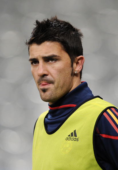 David Villa Messi Messy Cut David Villa