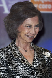 Queen Sofia attended a concert wearing her signature bob.
