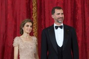 Stylish Celeb Couples: Queen Letizia And King Felipe Of Spain