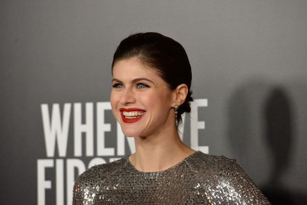 More Pics of Alexandra Daddario Evening Sandals (1 of 22) - Alexandra Daddario Lookbook - StyleBistro [hair,face,eyebrow,facial expression,lip,hairstyle,beauty,fashion,chin,smile,alexandra daddario,arrivals,when we first met,screening,arclight hollywood,california,netflix,screening]