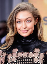 Gigi Hadid wore her hair in a sexy teased style when she attended Spike TV's Guys Choice 2016.