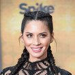 Olivia Munn's French Braids