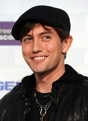 Jackson showed off his cool newsboy hat while hitting Spike TV's Scream Awards.
