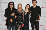 Gene Simmons and Sophie Simmons Photo