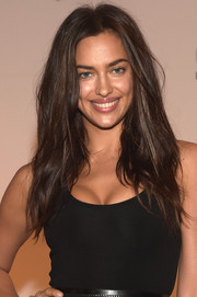 Irina Shayk attended the SI Swimsuit Takes Over the Schermerhorn event wearing sexy bedhead.