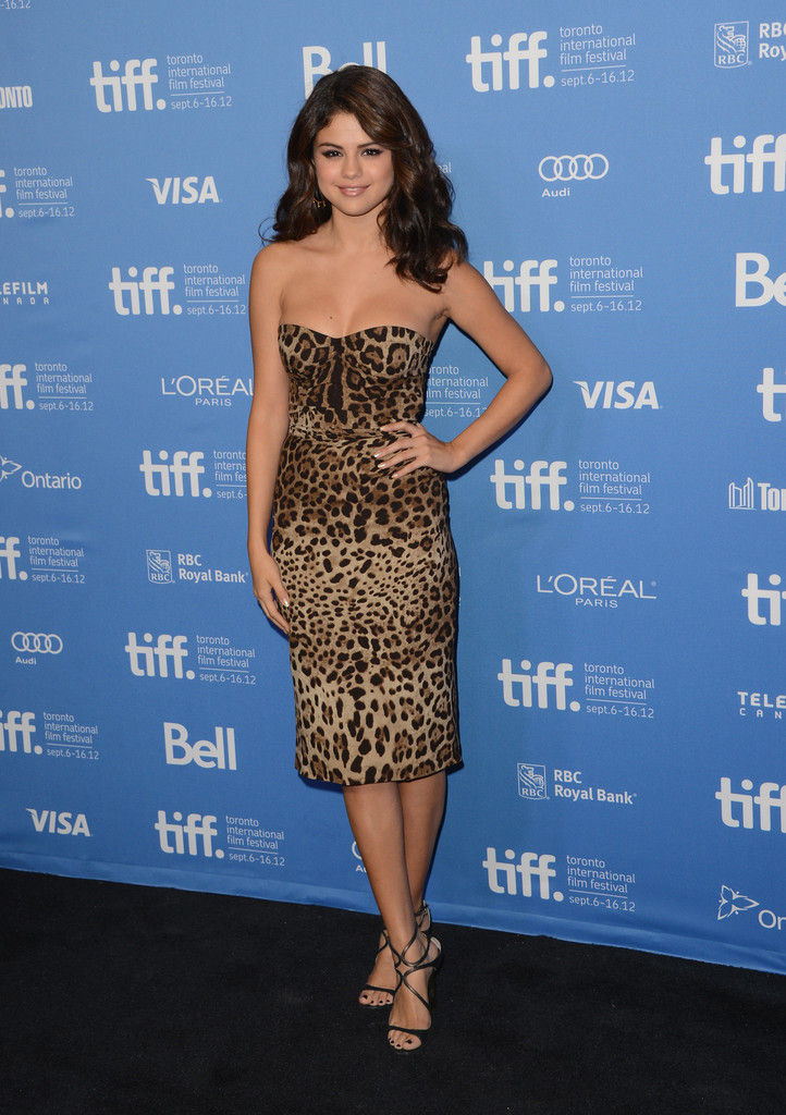 "Actress Selena Gomez attends the ""Spring Breakers"" photo call during the 2012 Toronto International Film Festival at TIFF Bell Lightbox on September 7, 2012 in Toronto, Canada."