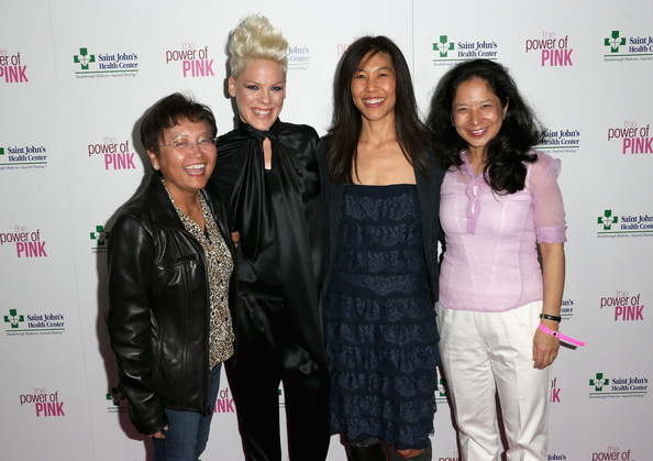 More Pics of Pink Fauxhawk (1 of 12) - Short Hairstyles Lookbook - StyleBistro [event,fashion,fashion design,premiere,carpet,maggie dinome,maureen chung,pink,lou lazatin,arrivals,ceo,l-r,margie petersen breast center,st. johns health center,power of pink]