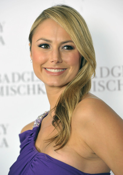 Actress <b>Stacey Keibler</b> arrives to the opening of the Badgley Mischka <b>...</b> - Stacy%2BKeibler%2BLong%2BHairstyles%2BLong%2BStraight%2BPQKbbF16gZDl