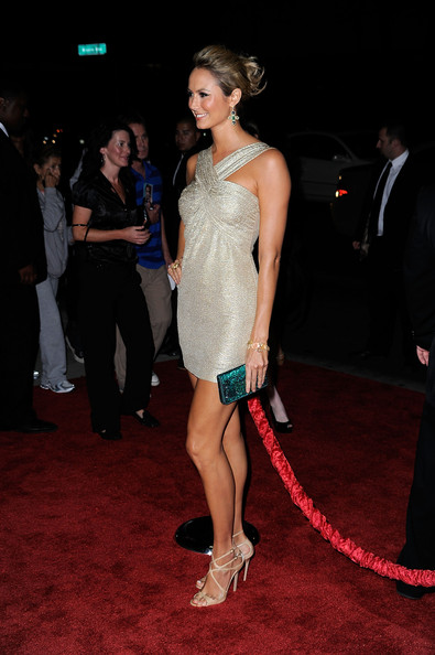 Stacy Keibler Beaded Clutch