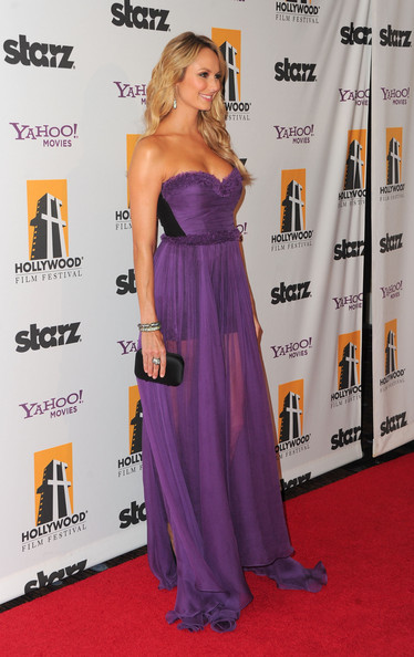 Stacy Keibler Evening Dress
