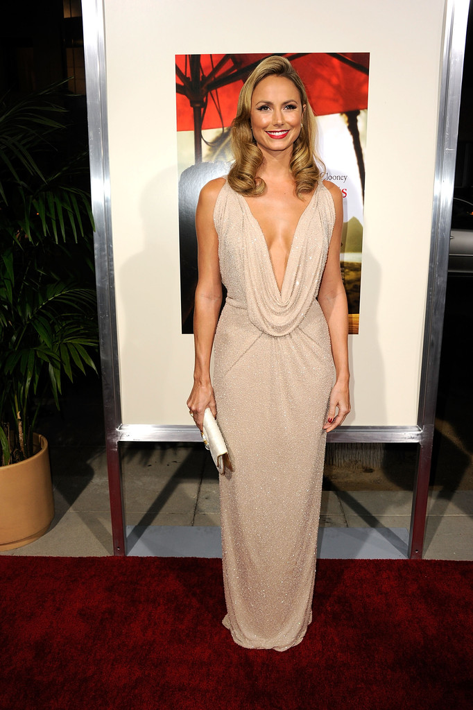 Stacy Keibler Evening Dress Stacy Keibler Looks