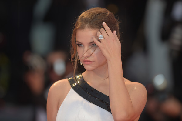 More Pics of Barbara Palvin One Shoulder Dress (1 of 15) - Dresses & Skirts Lookbook - StyleBistro [a star is born,hair,face,beauty,hairstyle,eyebrow,lady,fashion,lip,blond,chin,barbara palvin,sala grande,red carpet,venice,italy,red carpet arrivals,venice film festival,screening]