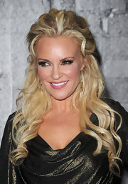 Ex playmate Bridget Marquardt came out to the young Hollywood party donning some major curls. She left a few curls around her face for added dimension.