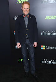 Jesse Tyler Ferguson kept his look casual and relaxed with a pair of dark-wash jeans.