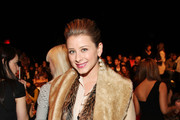 TV personality Lo Bosworth attends the Rebecca Minkoff Fall 2011 at MBFW with Starbucks Frappuccino at The Theater at Lincoln Center on February 11, 2011 in New York City.
