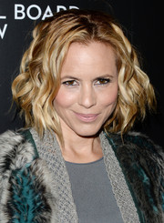 Maria Bello looked fab with her short wavy 'do at the 2014 National Board of Review Awards.