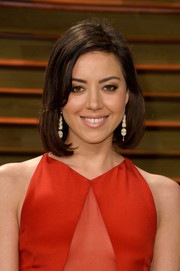 Aubrey Plaza kept it youthful with this bob at the Vanity Fair Oscar party.