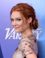 Darby Stanchfield took our breath away with this oh-so-lovely twisted bun at the Variety Power of Women event.