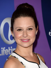Katie Lowes pulled her hair up in a classic high bun for the Variety Power of Women event.