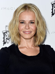 Chelsea Handler topped off her look with high-volume waves when she attended the Stella McCartney presentation.